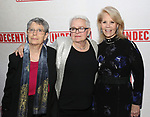 Anne Fausto-Sterling, Paula Vogel and Daryl Roth attend the Broadway Opening Night Performance of  'Indecent' at The Cort Theatre on April 18, 2017 in New York City.