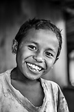 INDONESIA, Flores, young boy smiling at Bena village