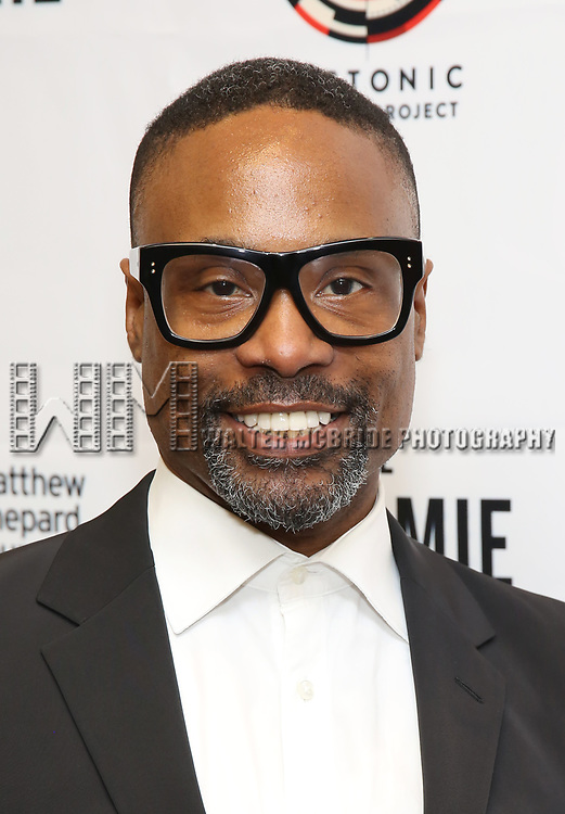 """Billy Porter attends the cast photo call for """"Laramie: A Legacy""""  on September 24, 2018 at The Gerald W. Lynch Theater at John Jay College in New York City."""