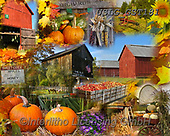 MODERN, MODERNO, paintings+++++GST_New England Autumn puzzle,USLGGST181,#N#, EVERYDAY ,collages,puzzle,puzzles ,photos ,Graffitees