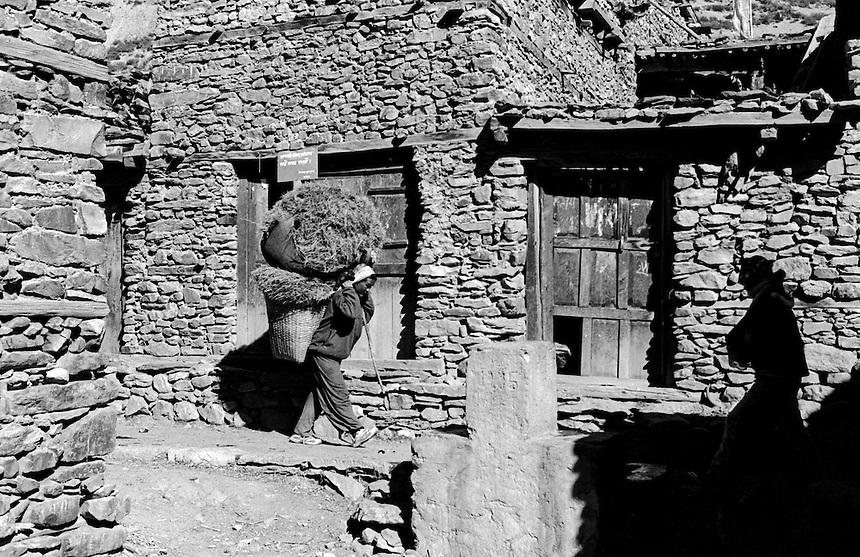 Manang, Annapurna Himal, Nepal, 2008. Photo: Ed Giles.