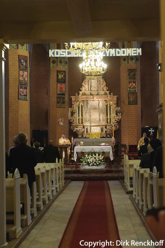 Kirche in Slonsk 16.Jh., Woiwodschaft Lebus, Polen