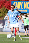 14 November 2010: UNC's Matt Rose. The University of Maryland Terrapins defeated the University of North Carolina Tar Heels 1-0 at WakeMed Soccer Park in Cary, North Carolina in the ACC Men's Soccer Tournament Championship game.