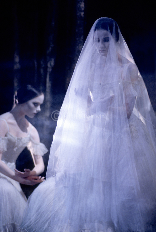 Lisa Pavana in English National Ballet's production of Giselle choreographed by Derek Deane