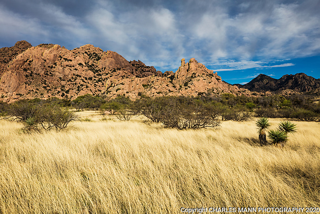 The Dragoon Mountains, located  in southeastern Arizona near the town of Tombstone, feature  some of the most dramatic rock formations in the state of Arizona.