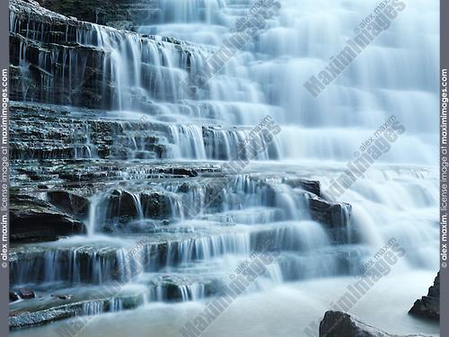 Albion Falls. Cascade waterfall. Hamilton Ontario Canada.