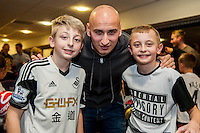 Tuesday  15 December 2015<br /> Pictured: Jonjo Shelvey<br /> Re: Kids SCFC Christmas Party at the Liberty Stadium, Swansea