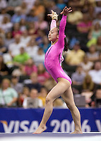 8/19/06 -- Photo by John Cheng -- VISA Championships Women Jr - Corrie Lothrop (Hill's Gymnastics)