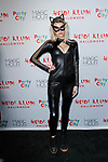 Guest arrives at Heidi Klum's 18th Annual Halloween Party presented by Party City and SVEDKA Vodka at Magic Hour Rooftop Bar & Lounge at Moxy Times Square, on October 31, 2017.