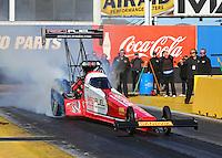 3-4 February, 2016, Chandler, Arizona USA Shawn Langdon, Red Fuel, top fuel ©2016, Mark J. Rebilas