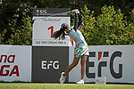 Golfer Saranporn Langkulgasettrin of Thailand during the 2017 Hong Kong Ladies Open on June 9, 2017 in Hong Kong, China. Photo by Chris Wong / Power Sport Images