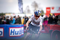 Tom Pidcock (GBR/Trinity Racing)<br /> <br /> Men Elite Race<br /> UCI Cyclocross Worldcup – Hoogerheide (Netherlands)<br /> <br /> ©kramon