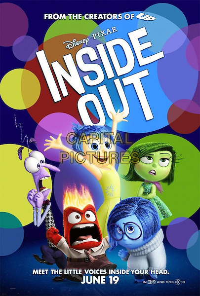 POSTER ART<br /> in Inside Out (2015) <br /> *Filmstill - Editorial Use Only*<br /> CAP/FB<br /> Image supplied by Capital Pictures