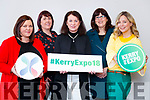 Pictured at the launch of the Kerry Expo at the Bon Secours Hospital Tralee, were Mairead O'Sullivan (South Kerry Development), Aoife O'Reilly (South Kerry Development), Liz Maher (Kerry Expo)  Bridget Fitzgerald (Kerry County Council), Elin Sorensen (Kerry Expo)