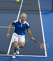 John McEnroe Celebrates his 59 Birthday at the 2018 Delray Beach Open