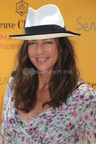 Kelly Klein at the Second Annual Veuve Clicquot Manhattan Polo Classic on Governors Island at the final event of a two-day visit to New York City. May 30, 2009 Credit: Dennis Van Tine/MediaPunch