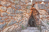 The Underground Cistern (1.250 B.C.) Mycenae, Greece