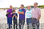 Some of the Sneem supporters at the Ballinskelligs regatta on Sunday pictured l-r; Michael O'Leary, Simon O'Connor, Pat O'Connor, Sean Murphy & Adrian Fitzgerald.