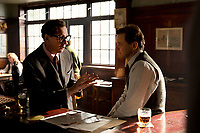 The Mercy (2018)  <br /> David Thewlis, Colin Firth<br /> *Filmstill - Editorial Use Only*<br /> CAP/KFS<br /> Image supplied by Capital Pictures