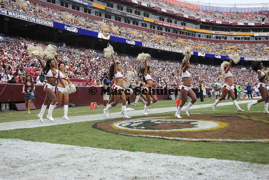 Cheerleader der Washington Redskins