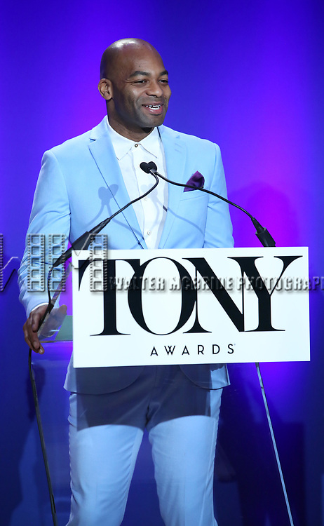 Brandon Victor Dixon during The 73rd Annual Tony Awards Nominations Announcement on April 30, 2019 in New York City.