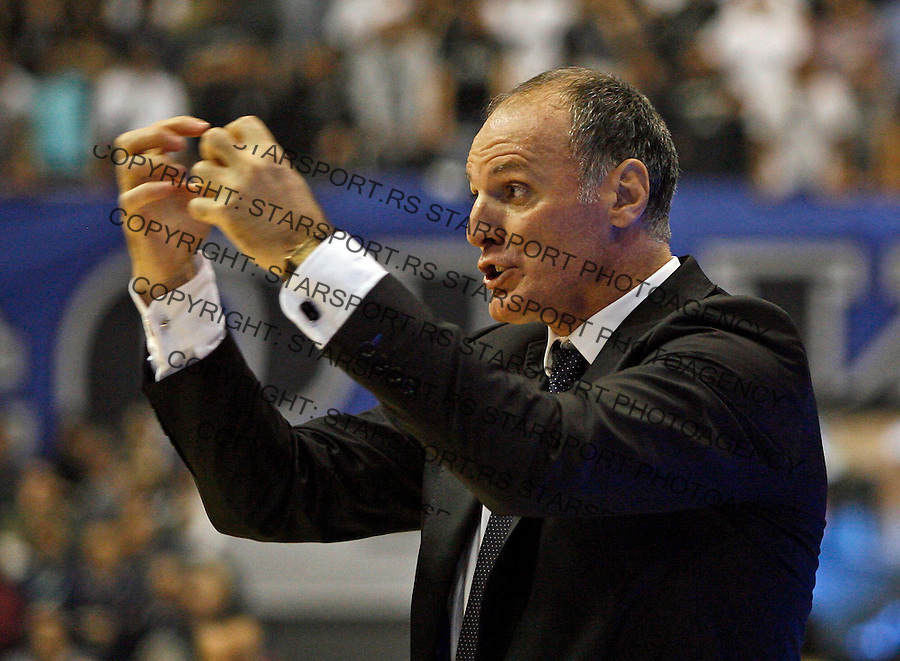 Dusko Ivanovic Euroleague match Partizan Belgrade vs Caja Laboral in Belgrade, Serbia, Wednesday, 17. November 2010. (credit & photo: Pedja Milosavljevic / +381 64 1260 959 / thepedja@gmail.com)