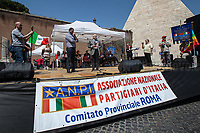 Rodolfo Lai (Carabiniere & Partizan).<br /> <br /> Rome, 25/04/2018. Today, to mark the 73rd Anniversary of the Italian Liberation from nazi-fascism ('Liberazione'), ANED Roma & ANPI Roma (National Association of Italian Partizans) held a march ('Corteo') from Garbatella to Piazzale Ostiense where a rally took place attended by Partizans, Veterans and politicians – including the Mayor of Rome and the President of Lazio's Region. From the organisers Facebook page:<<For the 25th of April, the 73rd Anniversary of the Liberation of Italy from nazi-fascism, while facing new threats to the world peace, it is necessary to remember that the Fight for Liberation triggered the greatest, positive, 'break' of the whole modern age of the Italian history. The Fight for the Liberation was supported by a great solidarity of the people. The memory of those who in the partizan struggle, in the camps of imprisonment, internment or extermination, opposed - even until the sacrifice of life - the dictatorship, the greed of territorial conquests, crazy ideologies of race supremacy, constitutes concrete warning against any attempt to undermine the foundations of the free institutions born of the Resistance. Memory is not an instrument of hatred or revenge, but of unity in a spirit of harmony without discriminations...<br /> (For the full caption please read the PDF attached at the the beginning of this story).<br /> <br /> For more info please click here: https://bit.ly/2vOIfNf & https://bit.ly/2r4iJy3 & http://www.anpi.it<br /> <br /> For the Wikipedia's page of the 'Liberazione' please click here: https://en.wikipedia.org/wiki/Liberation_Day_(Italy)<br /> <br /> For a Video of the event by Radio Radicale please click here: https://www.radioradicale.it/scheda/539534/manifestazione-promossa-dallanpi-in-occasione-della-73a-festa-della-liberazione