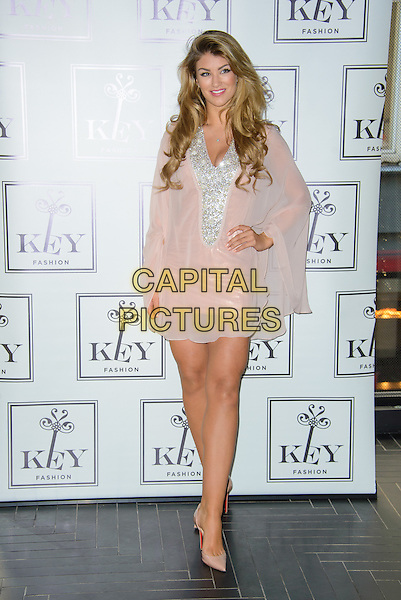 LONDON, ENGLAND - NOVEMBER 04: Key Fashion announces British Model Amy Willerton as the seasons new face for their Autumn Winter 2014 Collection at Chotto Matte, on November 04, 2014 in London, England. <br /> CAP/CJ<br /> &copy;Chris Joseph/Capital Pictures