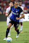 FC Internazionale Defender Joao Miranda in action during the International Champions Cup match between FC Bayern and FC Internazionale at National Stadium on July 27, 2017 in Singapore. Photo by Weixiang Lim / Power Sport Images