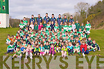 Young Killarney Legion players aged from U6 to U10 gathered in Direen, Killarney on Saturday to wish the Legion members of the Sem team every good luck in their upcoming All Ireland final.