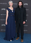 LOS ANGELES, CALIFORNIA, USA - NOVEMBER 02: Alexandra Grant and Keanu Reeves arrive at the 2019 LACMA Art + Film Gala held at the Los Angeles County Museum of Art on November 2, 2019 in Los Angeles, California, United States. (Photo by Xavier Collin/Image Press Agency)