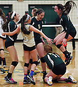 North Branch at Notre Dame Prep, Varsity Volleyball, 11/19/13