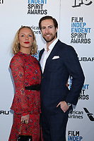LOS ANGELES - FEB 23:  Annie Starke, Marc Albu at the 2019 Film Independent Spirit Awards on the Beach on February 23, 2019 in Santa Monica, CA