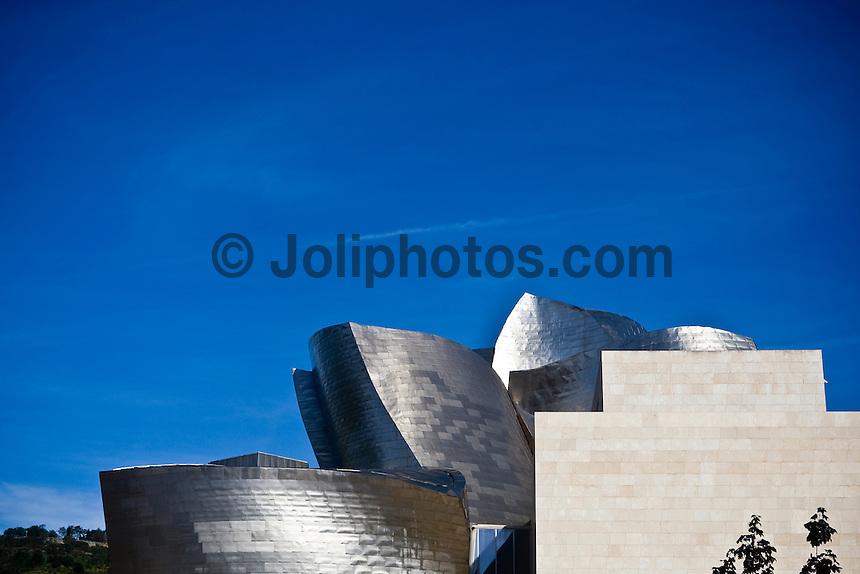 Guggenheim Museum Bilboa, Basque Country, Northern Spain. Photo: joliphotos.com