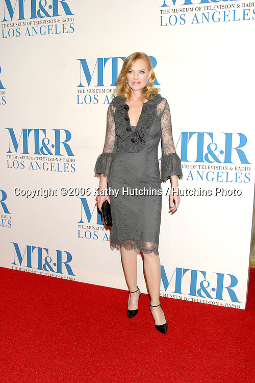 Marg Helgenberger .Museum of TV & Radio Annual Gala IHO Les Moonves and Jerry Bruckheimer.Regent Beverly Wilshire Hotel.Beverly Hills, CA.October 30, 2006.©2006 Kathy Hutchins / Hutchins Photo....
