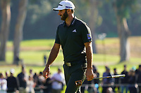 Dustin Johnson (USA) during the final round of the The Genesis Invitational, Riviera Country Club, Pacific Palisades, Los Angeles, USA. 15/02/2020<br /> Picture: Golffile | Phil Inglis<br /> <br /> <br /> All photo usage must carry mandatory copyright credit (© Golffile | Phil Inglis)