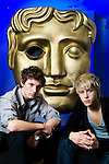 Actors Alex Pettyfer and Mitch Hewer at BAFTA House, London - Client: BAFTA