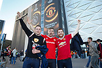 Manchester United fans arrive at the stadium during the UEFA Europa League Final match at the Friends Arena, Stockholm. Picture date: May 24th, 2017.Picture credit should read: Matt McNulty/Sportimage