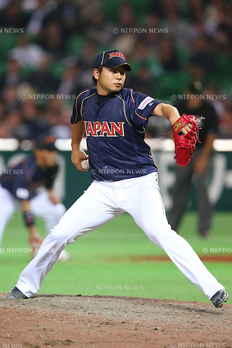 Takeru Imamura (JPN), .MARCH 6, 2013 - WBC : .2013 World Baseball Classic .1st Round Pool A .between Japan 3-6 Cuba .at Yafuoku Dome, Fukuoka, Japan. .(Photo by YUTAKA/AFLO SPORT) [1040]