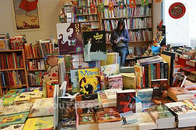 Genève, le 09.05.2007.Librairie du Boulevard, rue de carouge..© J.-P. Di Silvestro..