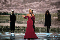 Oscar&reg; nominee Mary J. Blige performs live at The 90th Oscars&reg; at the Dolby&reg; Theatre in Hollywood, CA on Sunday, March 4, 2018.<br /> *Editorial Use Only*<br /> CAP/PLF/AMPAS<br /> Supplied by Capital Pictures