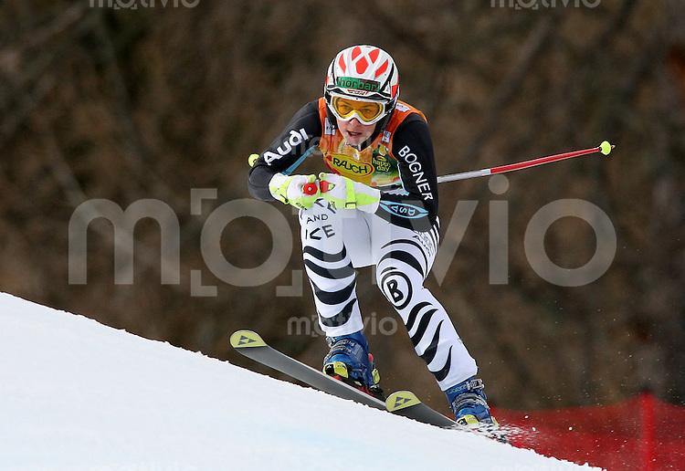 Ski Alpin; Saison 2006/2007  Damen Super G Petra Haltmayr (GER) belegt Platz 10.