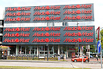 Media Markt shop building, Eindhoven city centre, North Brabant province, Netherlands