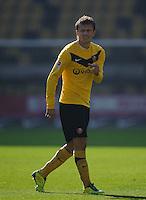 Fussball 2. Bundesliga Saison 2011/2012 13. Spieltag Dynamo Dresden - Karlsruher SC Zlatko DEDIC (Dynamo Dresden).