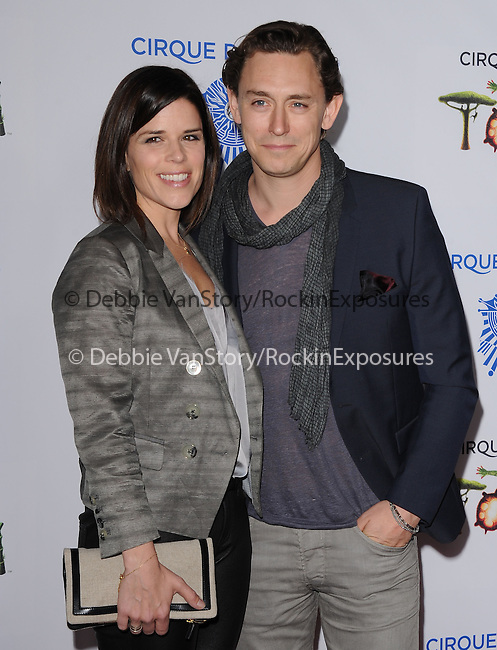 Neve Campbell and JJ Field attends Totem from Cirque du Soleil Premiere at Santa Monica Pier in Santa Monica, California on January 21,2014                                                                               © 2014 Hollywood Press Agency