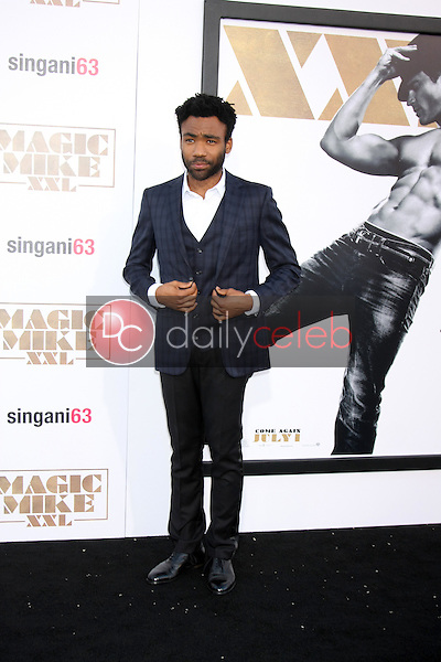 """Donald Glover <br /> at the """"Magic Mike XXL"""" Premiere, TCL Chinese Theater, Hollywood, CA 06-25-15<br /> David Edwards/DailyCeleb.com 818-249-4998"""