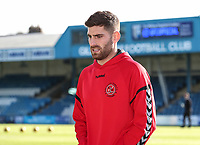 Fleetwood Town's Ched Evans <br /> <br /> Photographer Andrew Kearns/CameraSport<br /> <br /> The EFL Sky Bet League One - Gillingham v Fleetwood Town - Saturday 3rd November 2018 - Priestfield Stadium - Gillingham<br /> <br /> World Copyright &copy; 2018 CameraSport. All rights reserved. 43 Linden Ave. Countesthorpe. Leicester. England. LE8 5PG - Tel: +44 (0) 116 277 4147 - admin@camerasport.com - www.camerasport.com