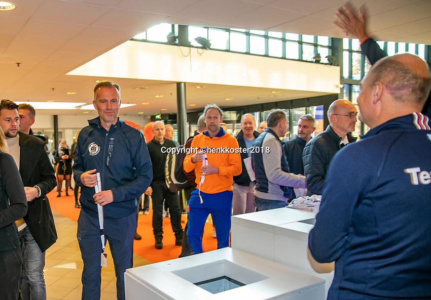 Nieuwegein,  Netherlands, 9 November 2018, Coaches congress KNLTB<br /> Photo: Tennisimages.com/Henk Koster