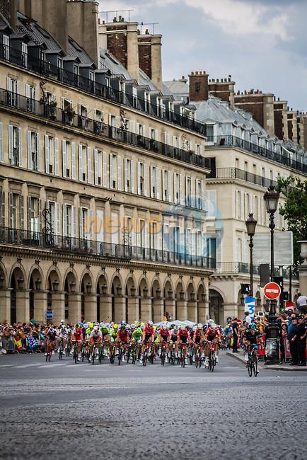 Peloton, Tour de France, Stage 21: Évry > Paris Champs-Élysées, UCI WorldTour, 2.UWT, Paris Champs-Élysées, France, 27th July 2014, Photo by Pim Nijland