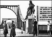 BNPS.co.uk (01202 558833)<br /> Pic: TheHistoryPress/BNPS<br /> <br /> The real bridge of spies: Glienicke&rsquo;s closely guarded &lsquo;Unity Bridge&rsquo; during the Cold War.<br /> <br /> A former spy has given a unique account of being held hostage in an East German prison and interrogated by the KGB in a new book.<br /> <br /> Ex-British agent Douglas Boyd was confronted by the KGB while enduring solitary confinement as a Cold War prisoner in a Stasi interrogation prison behind the iron curtain in 1959.<br /> <br /> KGB officers tried desperately to get him to break his cover - of a run of the mill clerk - and offered him a bogus deal in order to get him out of the prison so they could take him to a Gulag.<br /> <br /> The Solitary Spy, A Political Prisoner in Cold War Berlin, by Douglas Boyd, is published by The History Press and costs &pound;20.
